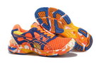 Asics Women's Gel Noosa Tri 7 Orange Red Steel Blue